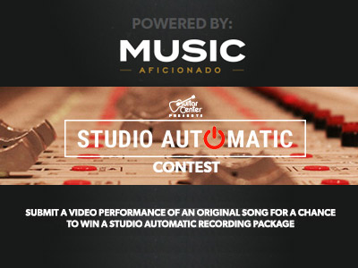 Studio Automatic/Music Aficionado Songwriting Contest